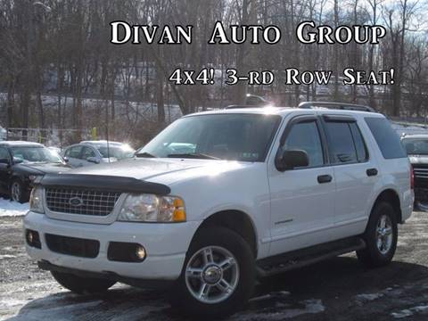 2004 Ford Explorer for sale at Divan Auto Group in Feasterville PA