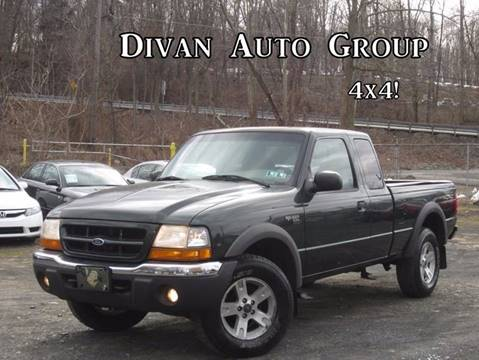2002 Ford Ranger for sale at Divan Auto Group in Feasterville PA