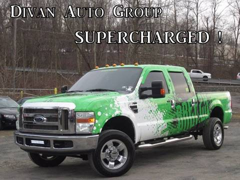 2008 Ford F-350 Super Duty for sale at Divan Auto Group in Feasterville PA