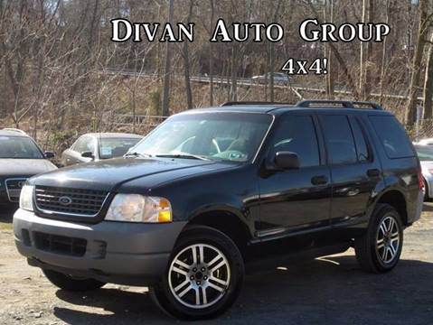 2002 Ford Explorer for sale at Divan Auto Group in Feasterville PA