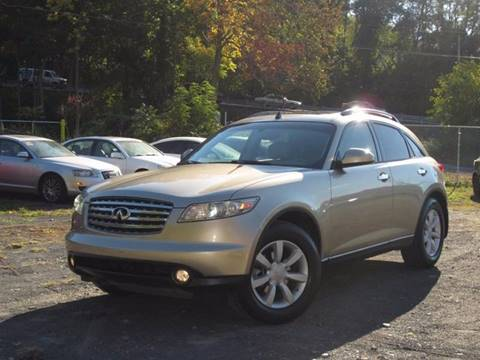 2005 Infiniti FX35 for sale at Divan Auto Group in Feasterville PA