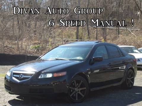 2005 Acura TL for sale at Divan Auto Group in Feasterville PA
