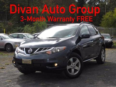 2011 Nissan Murano for sale at Divan Auto Group in Feasterville PA