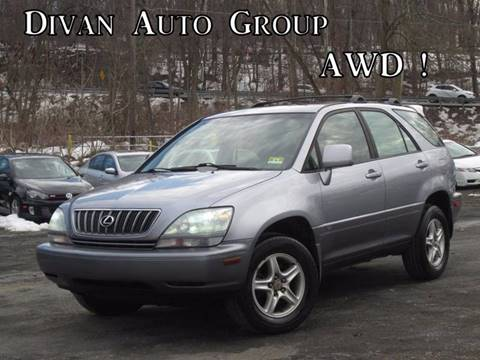 2002 Lexus RX 300 for sale at Divan Auto Group in Feasterville PA