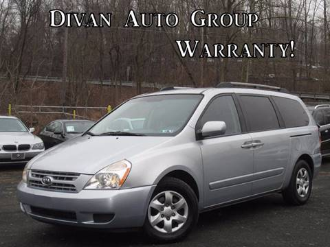 2009 Kia Sedona for sale at Divan Auto Group in Feasterville PA