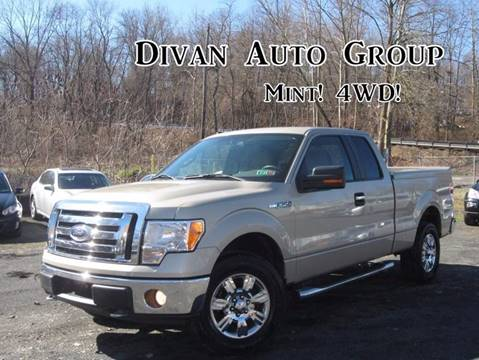 2009 Ford F-150 for sale at Divan Auto Group in Feasterville PA