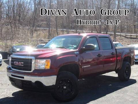 2009 GMC Sierra 1500 Hybrid for sale at Divan Auto Group in Feasterville PA