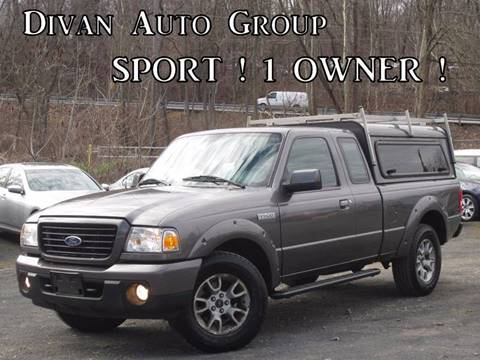 2008 Ford Ranger for sale at Divan Auto Group in Feasterville Trevose PA
