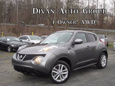 2011 Nissan JUKE for sale at Divan Auto Group in Feasterville PA