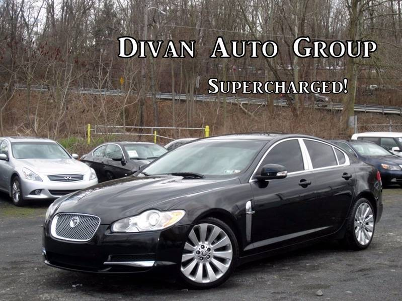 2009 jaguar xf supercharged 4dr sedan in feasterville pa divan auto group. Black Bedroom Furniture Sets. Home Design Ideas