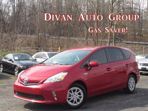 2014 Toyota Prius v for sale at Divan Auto Group in Feasterville PA