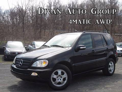 2005 Mercedes-Benz M-Class for sale at Divan Auto Group in Feasterville PA