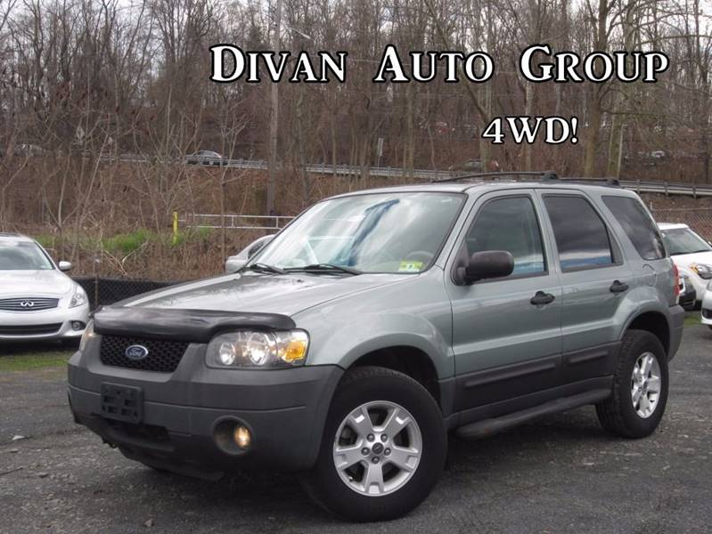 Ford Escape AWD XLT Dr SUV In Feasterville PA Divan Auto Group - 2005 escape