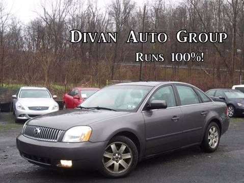 2005 Mercury Montego for sale at Divan Auto Group in Feasterville PA