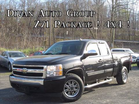 2007 Chevrolet Silverado 1500 for sale at Divan Auto Group in Feasterville PA