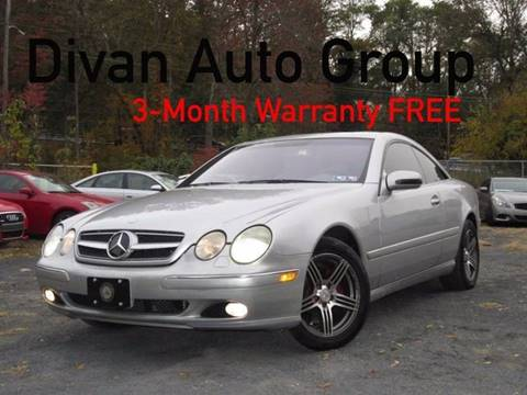 2000 Mercedes-Benz CL-Class for sale at Divan Auto Group in Feasterville PA