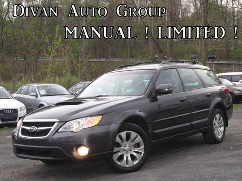 2008 Subaru Outback for sale at Divan Auto Group in Feasterville Trevose PA