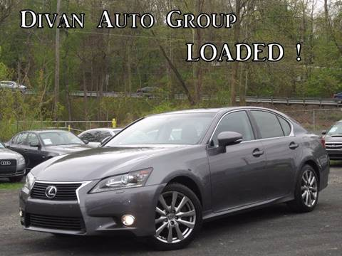 2013 Lexus GS 350 for sale at Divan Auto Group in Feasterville PA