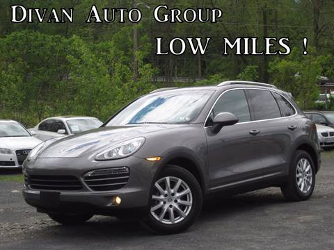 2012 Porsche Cayenne for sale at Divan Auto Group in Feasterville Trevose PA