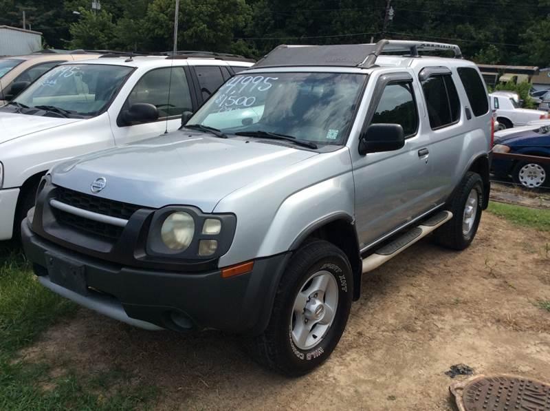 2002 Nissan Xterra SE 4WD 4dr SUV   Jackson TN