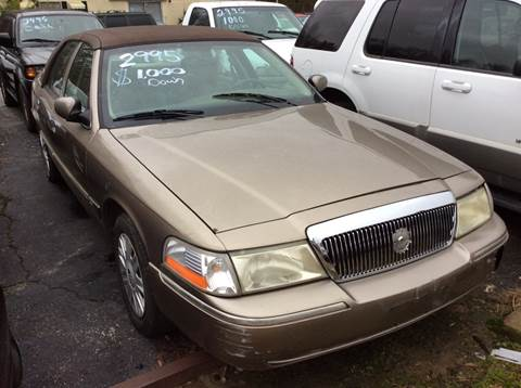 Mercury Grand Marquis For Sale In Tennessee Carsforsale Com