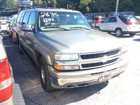 2002 Chevrolet Suburban for sale in Jackson, TN