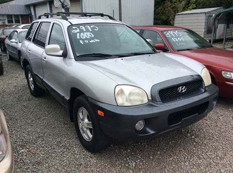 2001 Hyundai Santa Fe for sale in Jackson, TN