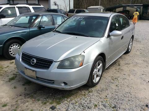 2005 Nissan Altima for sale in Jackson, TN