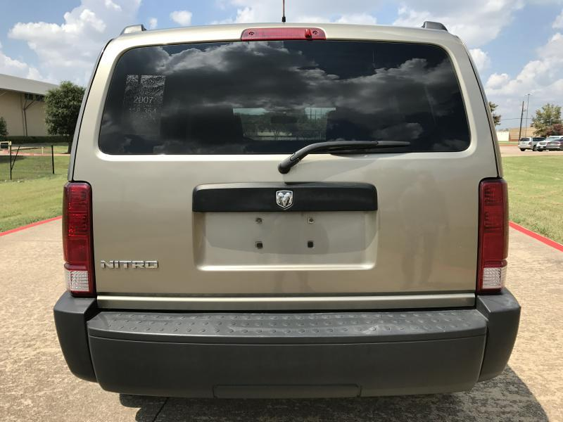 2007 Dodge Nitro for sale at Destin Motors in Plano TX