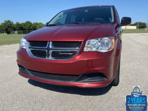 2016 Dodge Grand Caravan for sale at Destin Motors in Plano TX