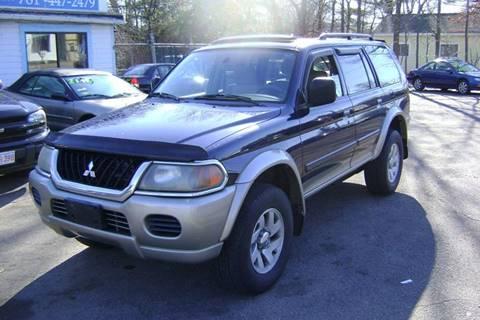 2002 Mitsubishi Montero Sport for sale in Whitman, MA
