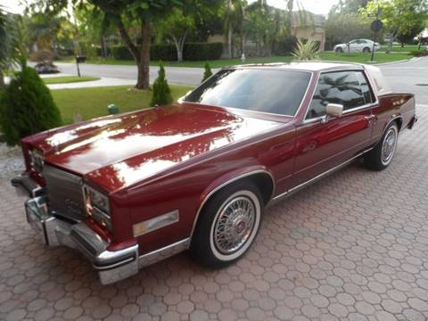 1984 Cadillac Eldorado for sale in Lauderhill, FL