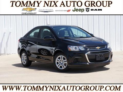 2017 Chevrolet Sonic for sale in Tahlequah, OK