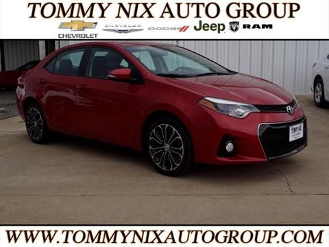 2015 Toyota Corolla for sale in Tahlequah, OK