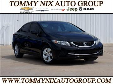 2013 Honda Civic for sale in Tahlequah, OK