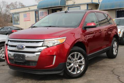 2014 Ford Edge SEL for sale at Dynamics Auto Sale in Highland IN