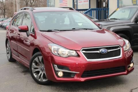 2015 Subaru Impreza 2.0i Sport Premium for sale at Dynamics Auto Sale in Highland IN