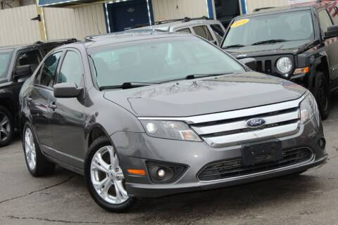 2012 Ford Fusion SE for sale at Dynamics Auto Sale in Highland IN