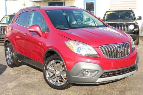 2014 Buick Encore Convenience for sale at Dynamics Auto Sale in Highland IN