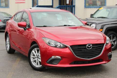 2014 Mazda MAZDA3 i Touring for sale at Dynamics Auto Sale in Highland IN