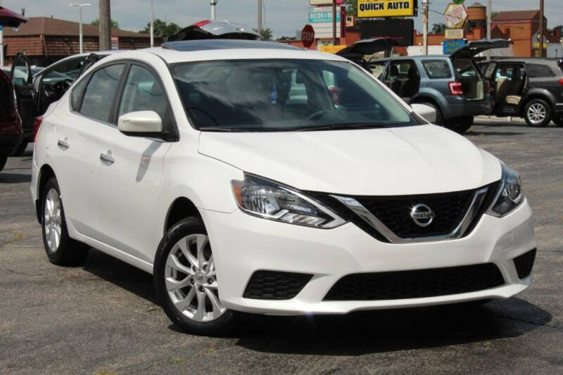 2017 Nissan Sentra for sale at Dynamics Auto Sale in Highland IN