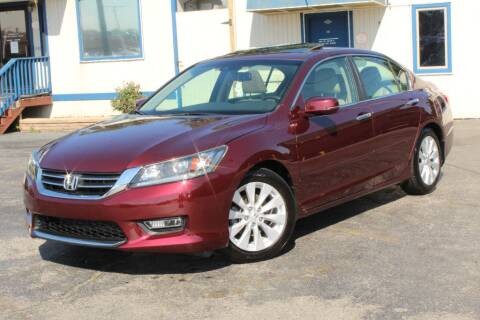 2013 Honda Accord for sale at Dynamics Auto Sale in Highland IN