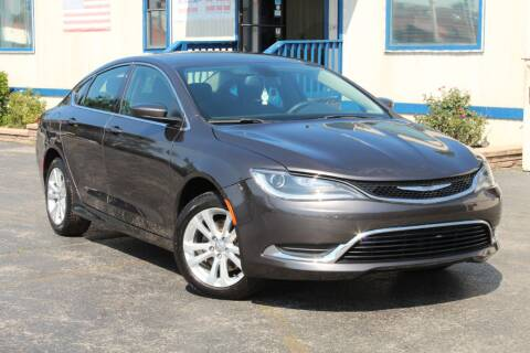 2015 Chrysler 200 for sale at Dynamics Auto Sale in Highland IN