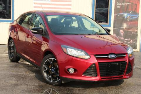 2014 Ford Focus for sale at Dynamics Auto Sale in Highland IN