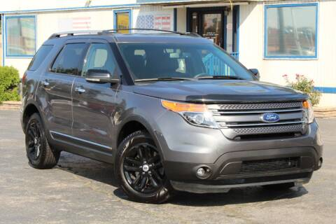 2014 Ford Explorer for sale at Dynamics Auto Sale in Highland IN