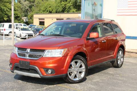 2012 Dodge Journey for sale at Dynamics Auto Sale in Highland IN
