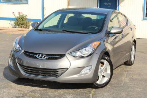 2013 Hyundai Elantra for sale at Dynamics Auto Sale in Highland IN