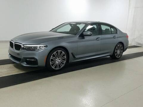 2017 BMW 5 Series 530i for sale at Godspeed Motors in Charlotte NC