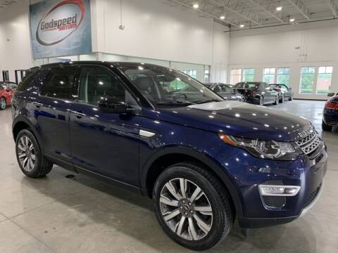 2017 Land Rover Discovery Sport for sale at Godspeed Motors in Charlotte NC