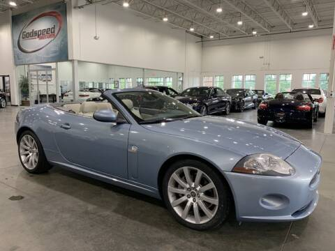 2007 Jaguar XK-Series for sale at Godspeed Motors in Charlotte NC